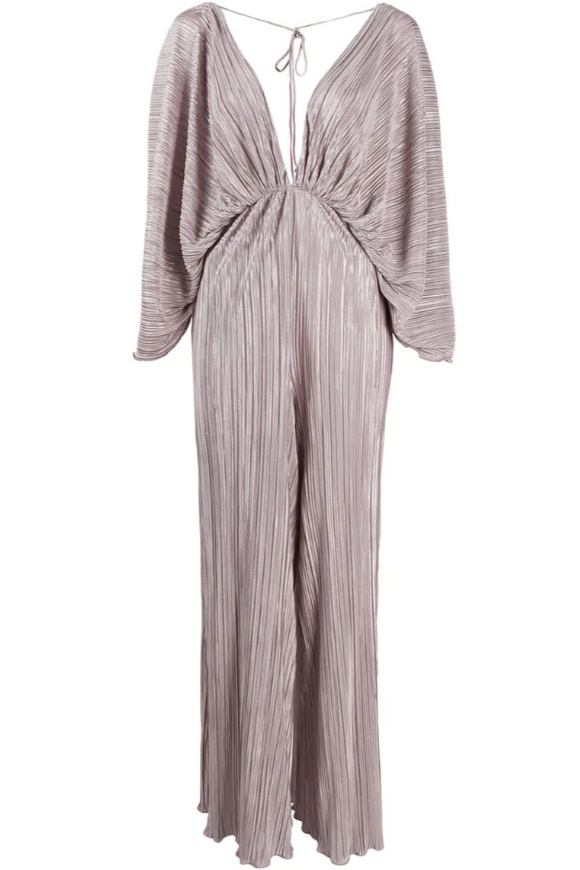 Light metallic jumpsuit