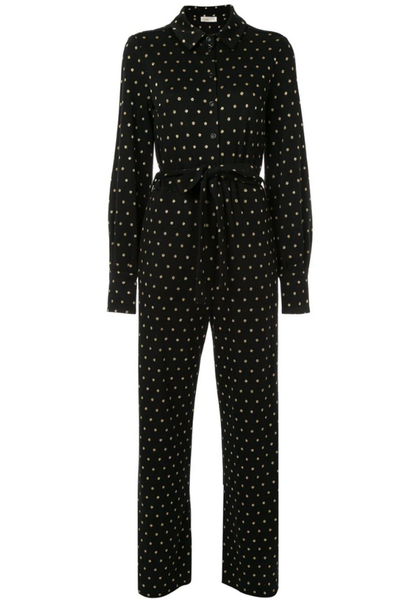Lana jumpsuit with polka dots